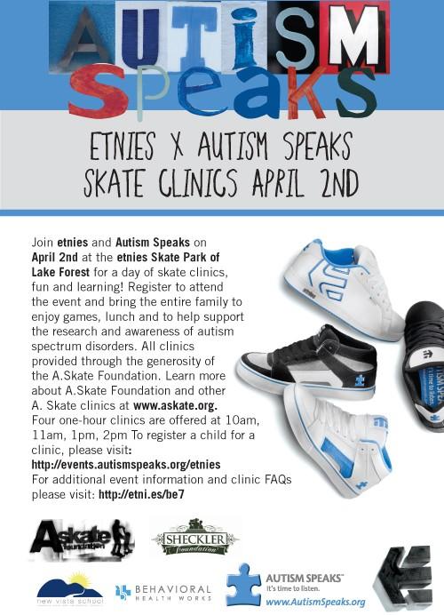 etnies autism skate clinic flyer 311