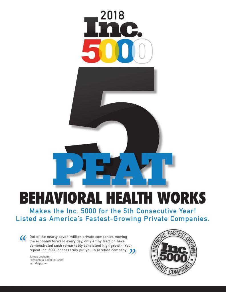 BHW 5-Peat Inc. 5000