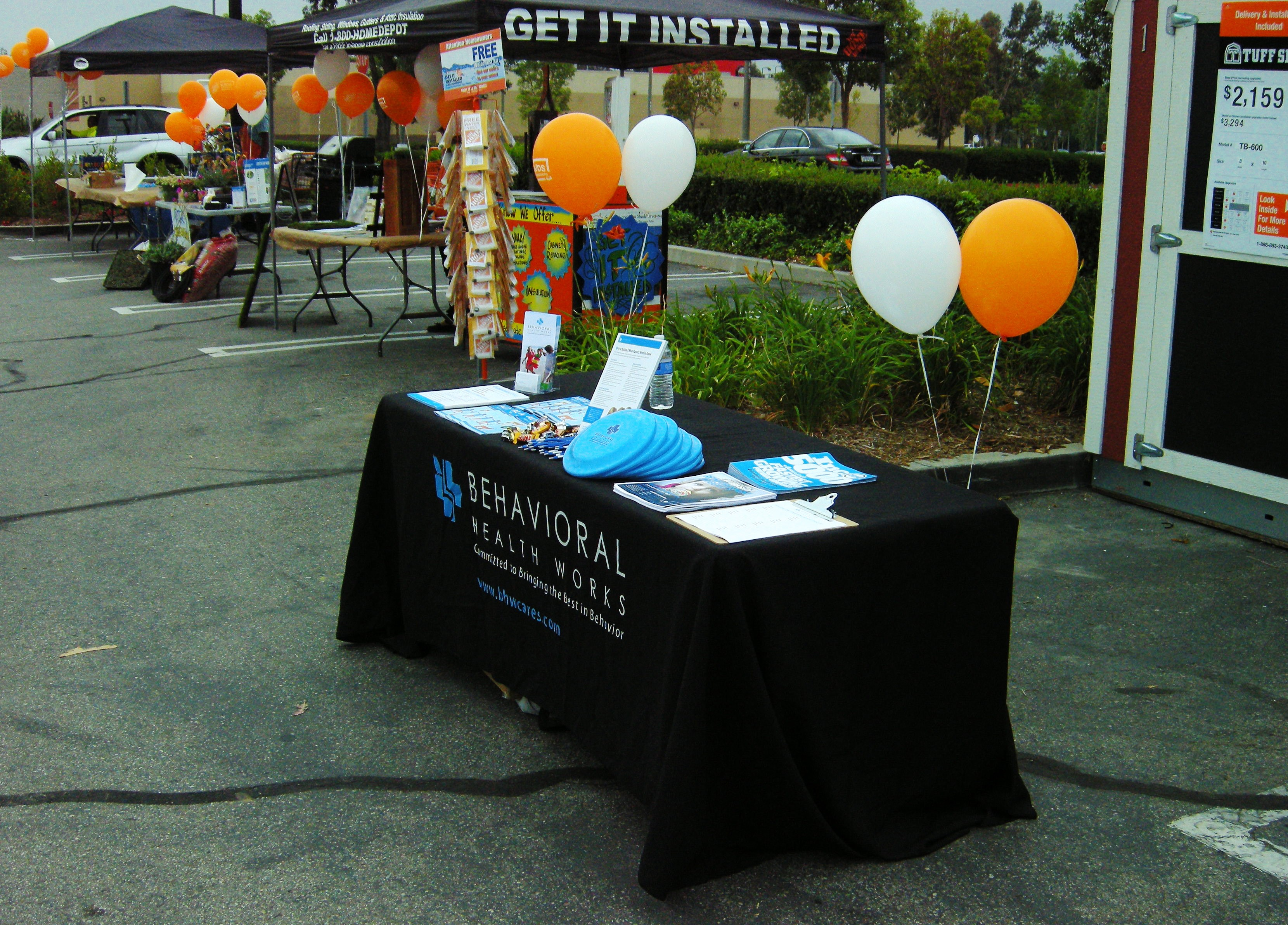 BHW information booth