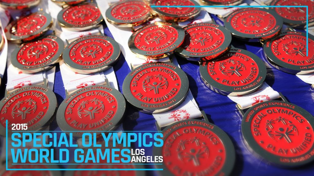 2015 Special Olympics Games Medals