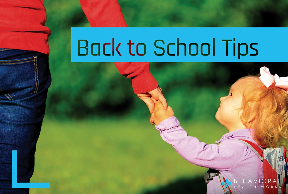 Tips for back to school.