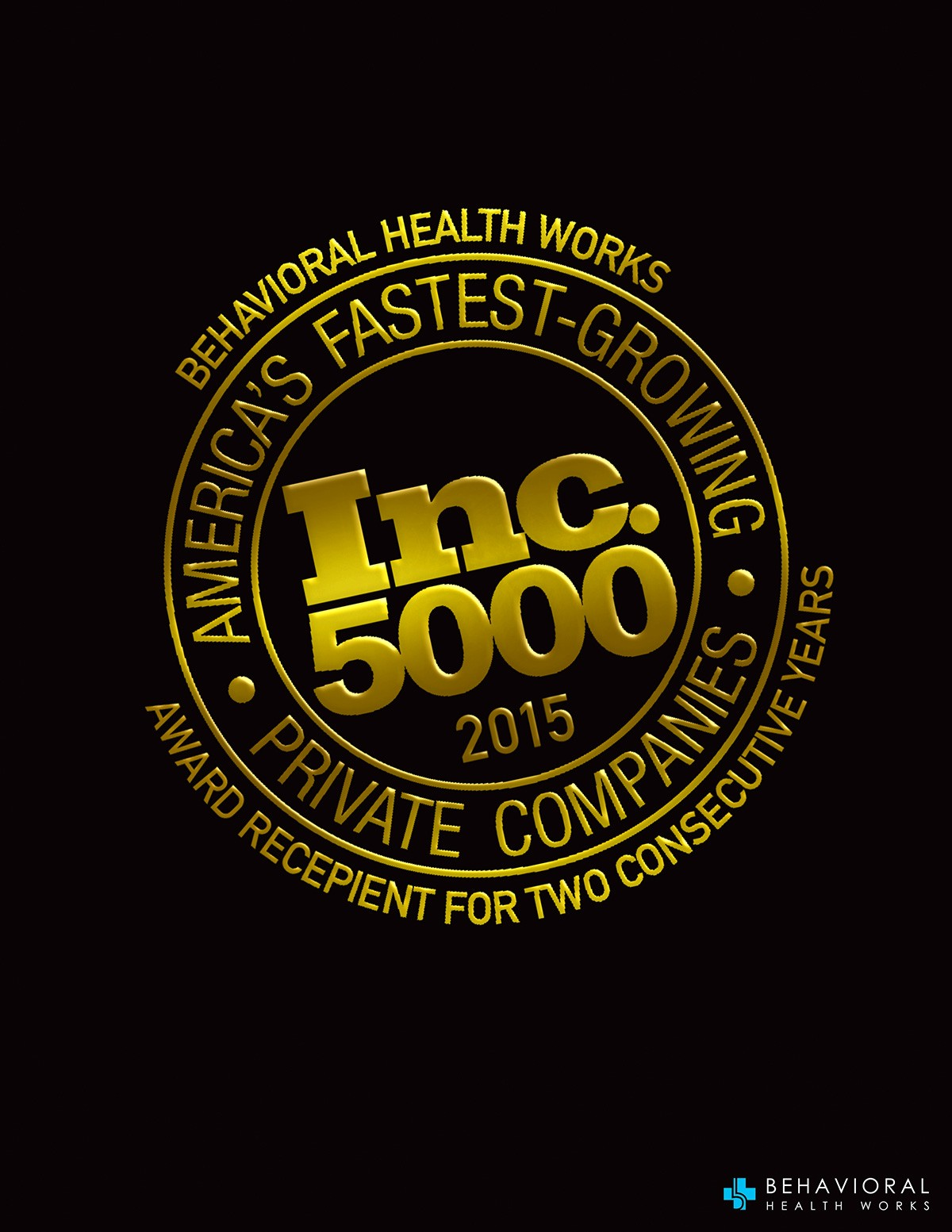 BHW MARKETING Inc5000 2015