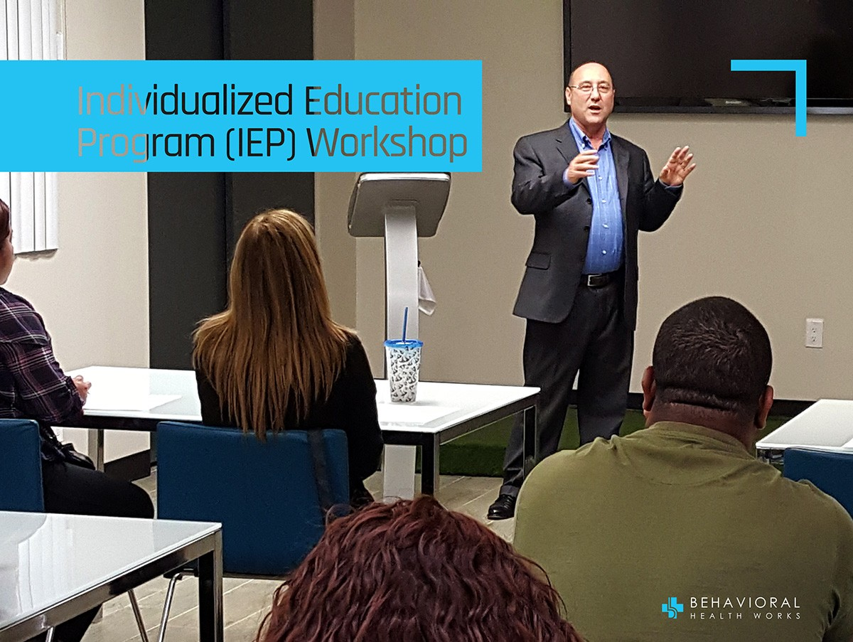 IEP workshop by Jeffery Gottleib