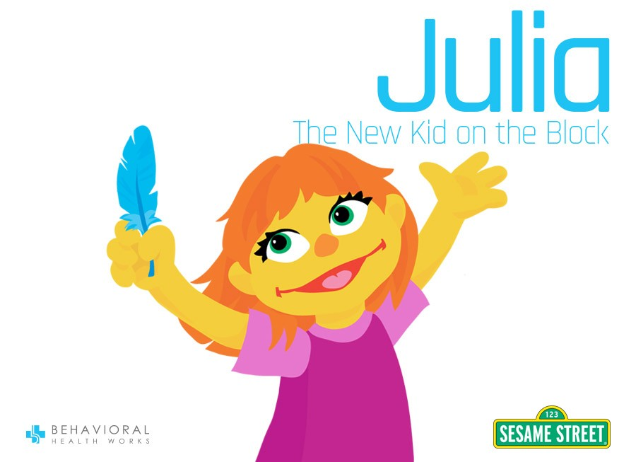 Julia-New Muppet-Sesame Street