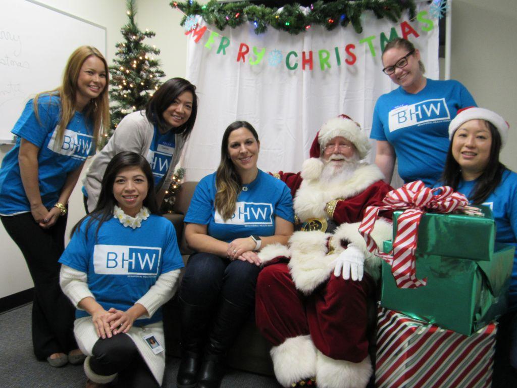Caring Santa Event 2015