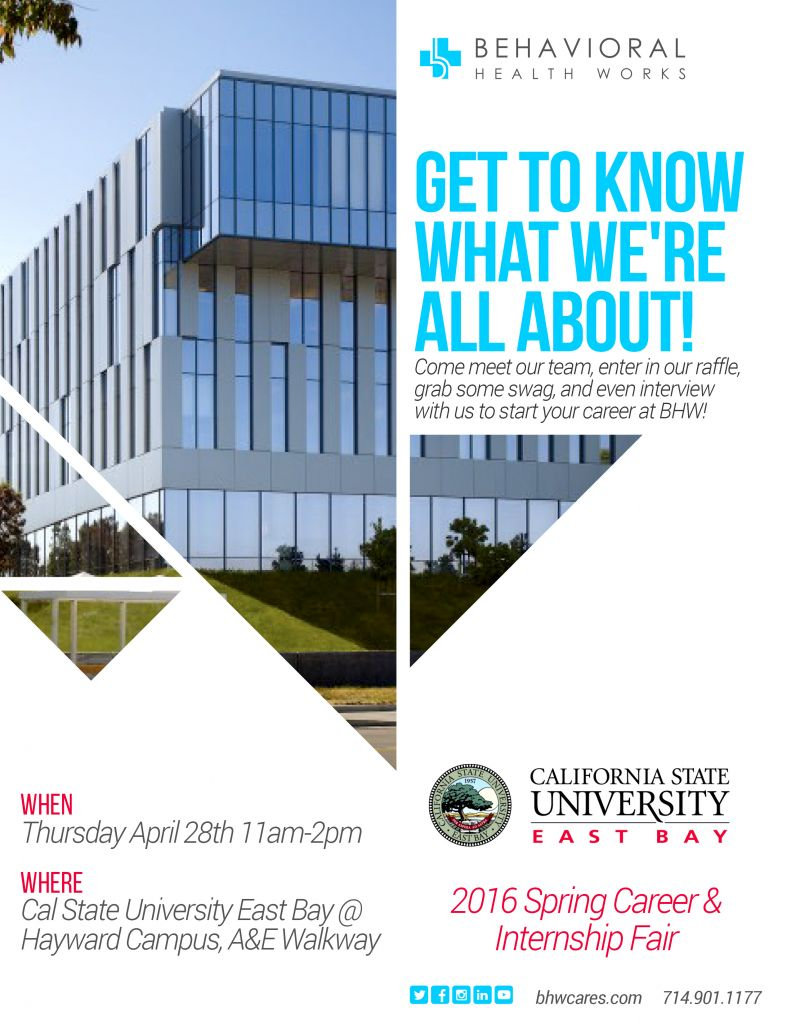 CSUEB 2016 Educator's Job Fair