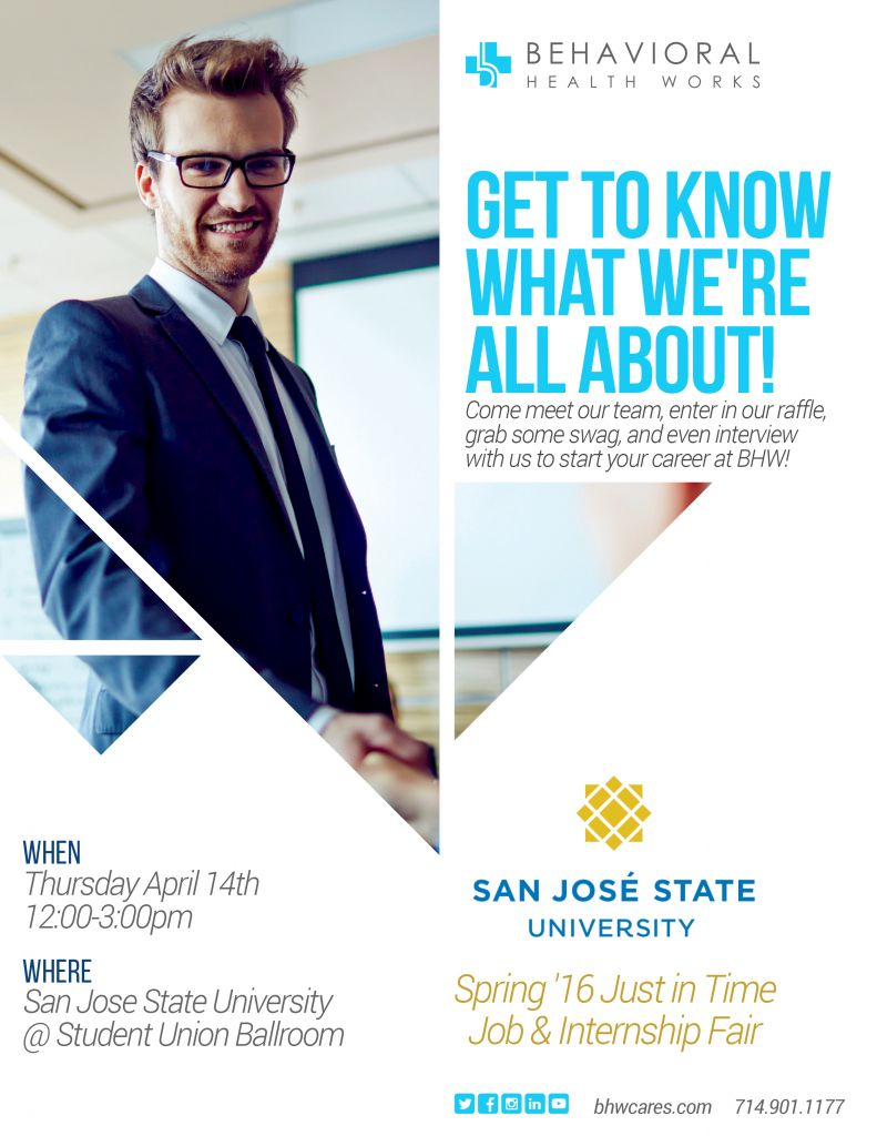 San Jose State University Flyer
