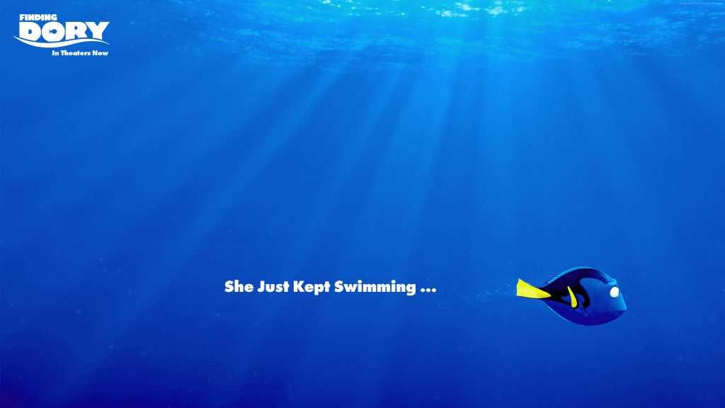 Finding Dory - A Story of Perseverance Against All Odds