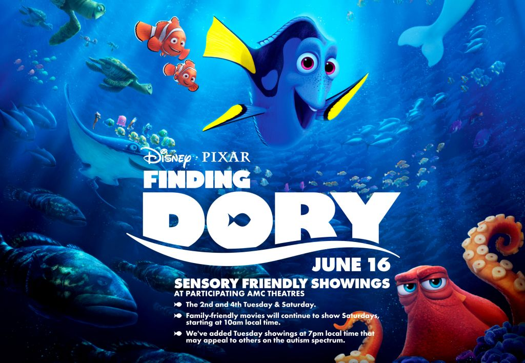 Sensory Friendly Finding Dory