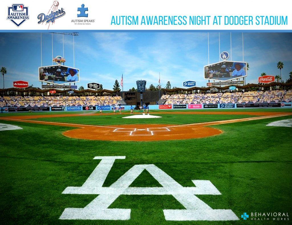 Autism Awarness Dodger Stadium