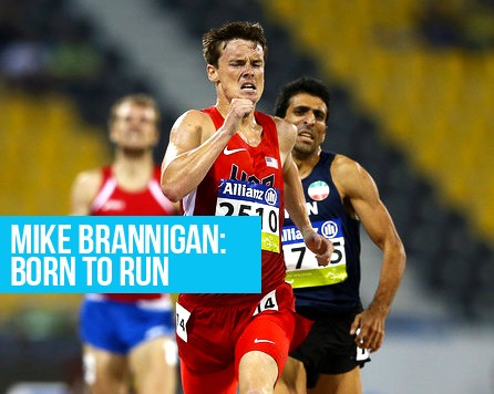 Mike Brannigan Running Born To Run