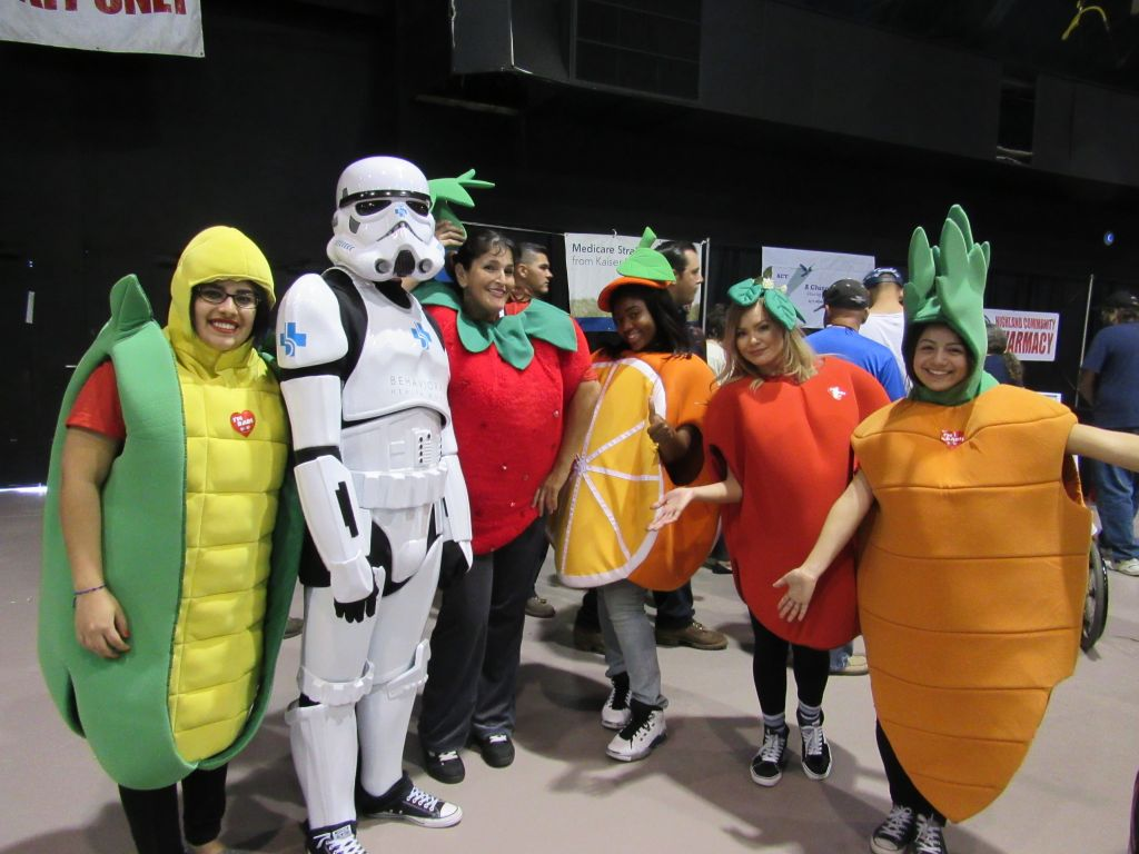 007 Inland Empire Disability Expo Fruity Mascots