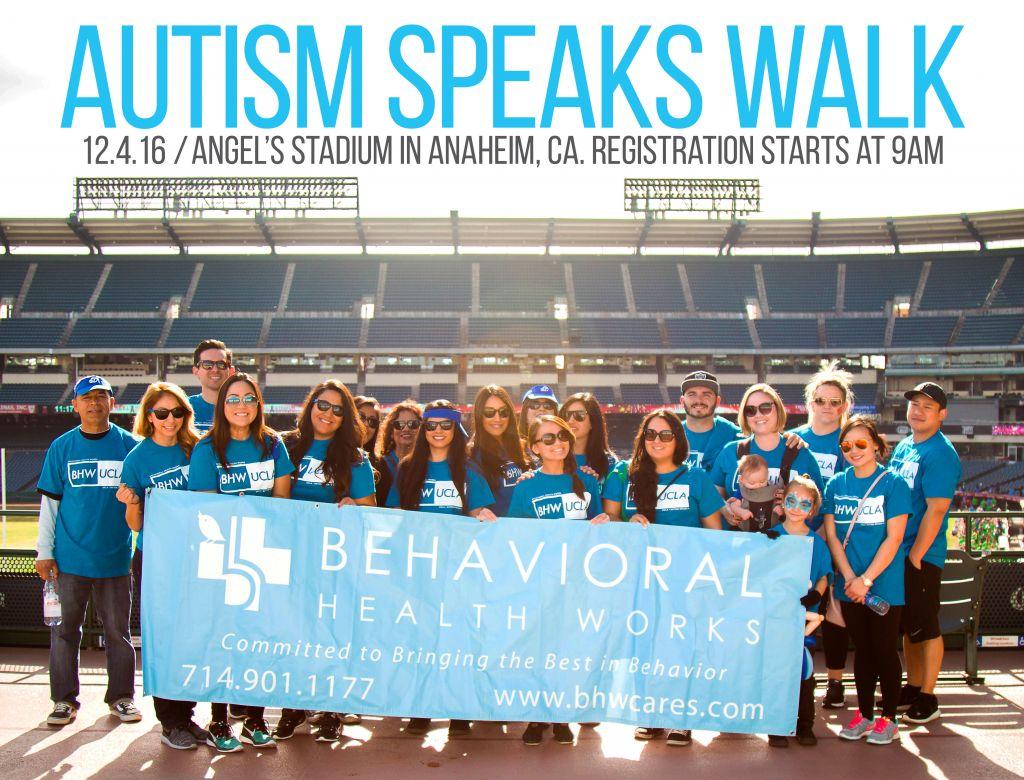 Autism Walk 2016 Orange County
