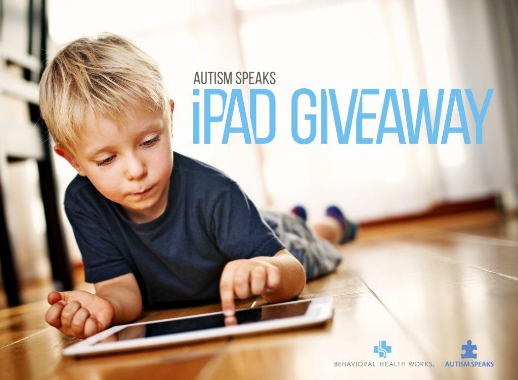 iPad Giveaway by Autism Speaks