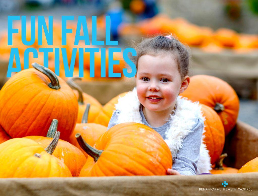 Fall Fun Girl in Pumpkin Patch 1