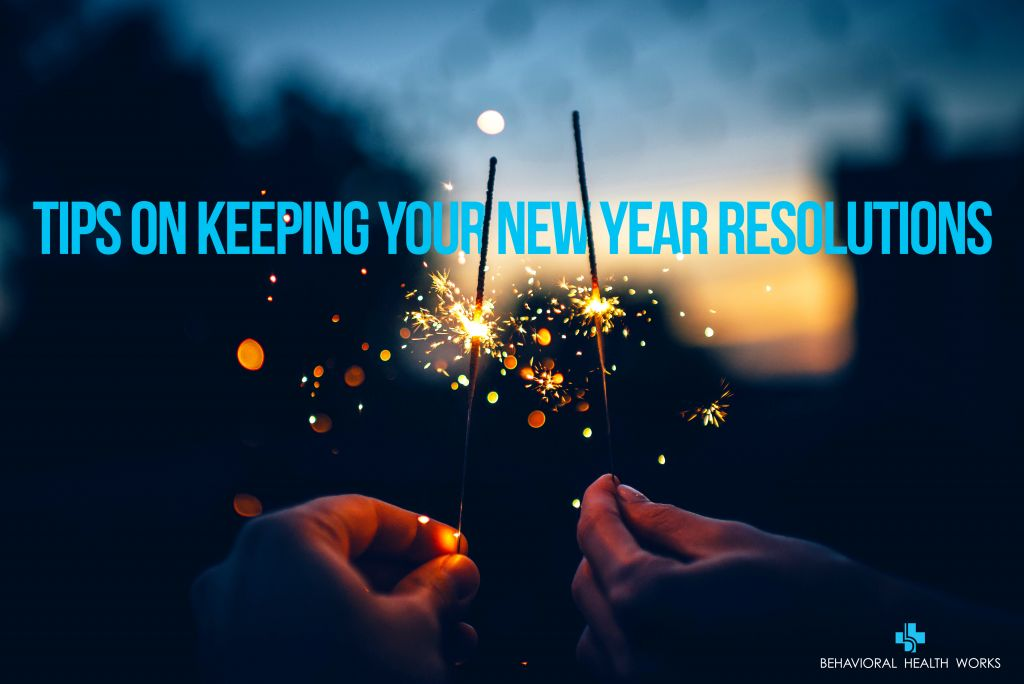 Tips on keeping New Year Resolutions