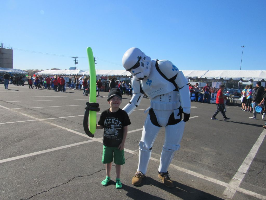 BHW Stormtrooper with Jedi