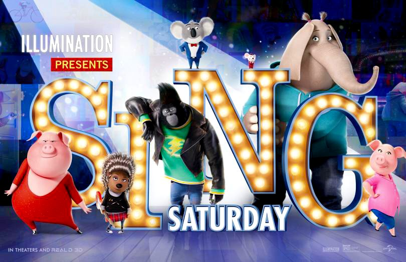 Sing Animated Movie Sensory Friendly Showing