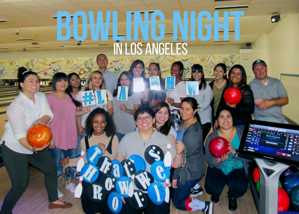 Bowling Night Roll Rally in LA