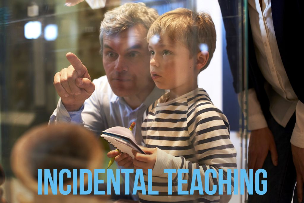 Incidental Teaching at a feild trip