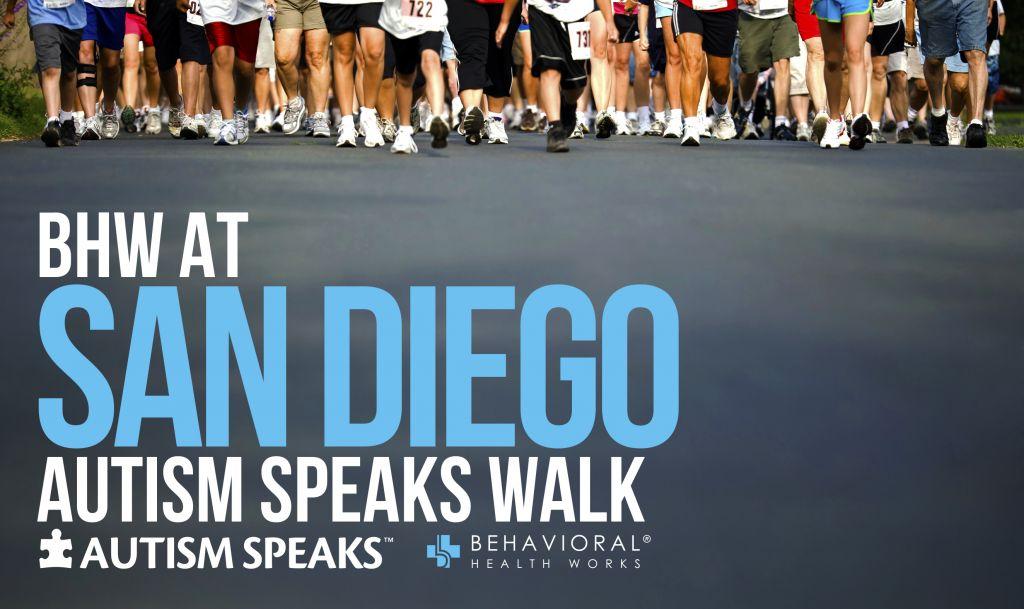 San Diego Autism Speaks Walk 2017