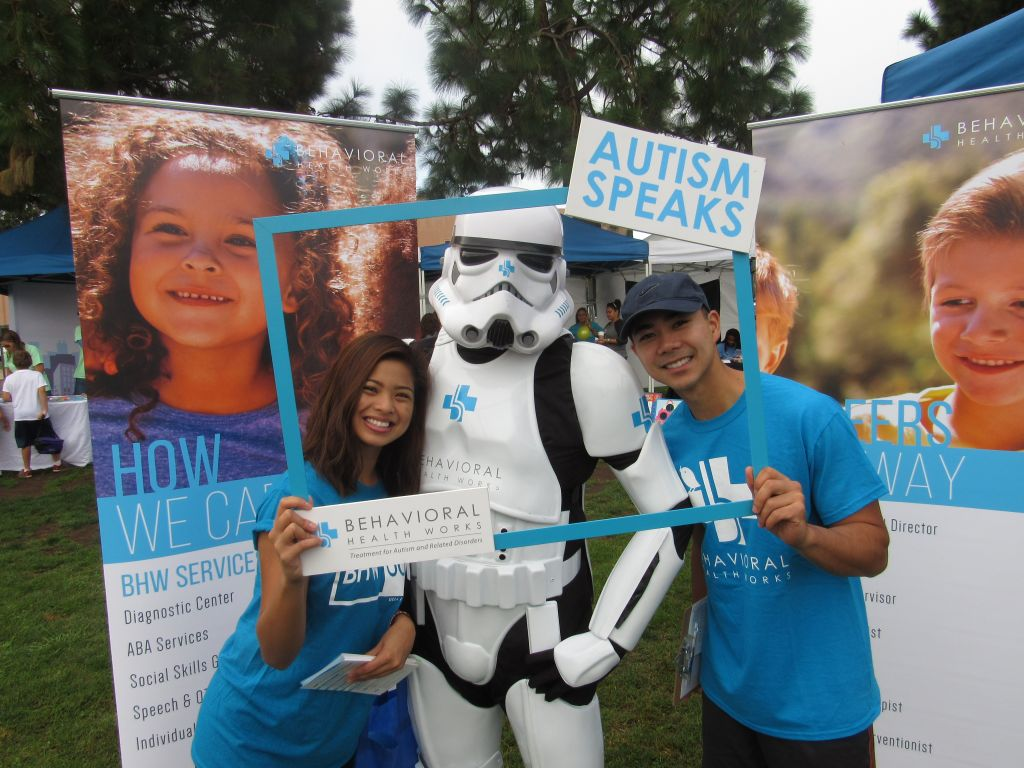 BHW at San Diego Autism Walk 2016