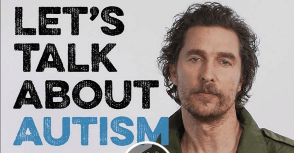 Kiehl's, partners with Matthew McConaughey & Autism Speaks