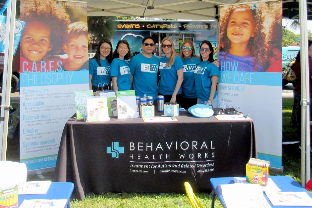 BHW representing and 2017 Autism Speaks Walk San Diego.