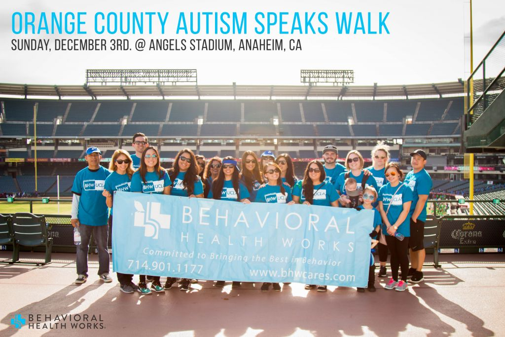2017 Autism Speaks Walk Orange County CA