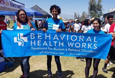 IE Silverlakes Complex Autism Walk 2018