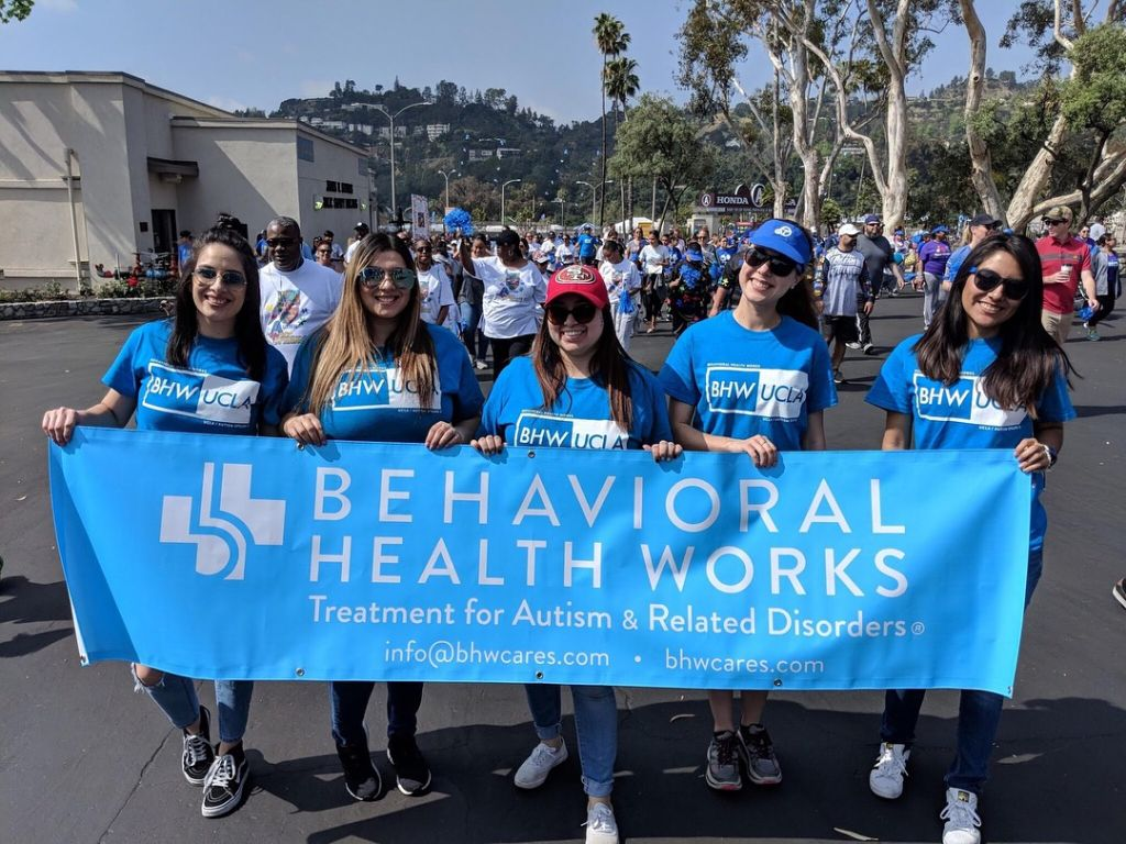 Autism Walk Doubleheader LA Walk Rose Bowl
