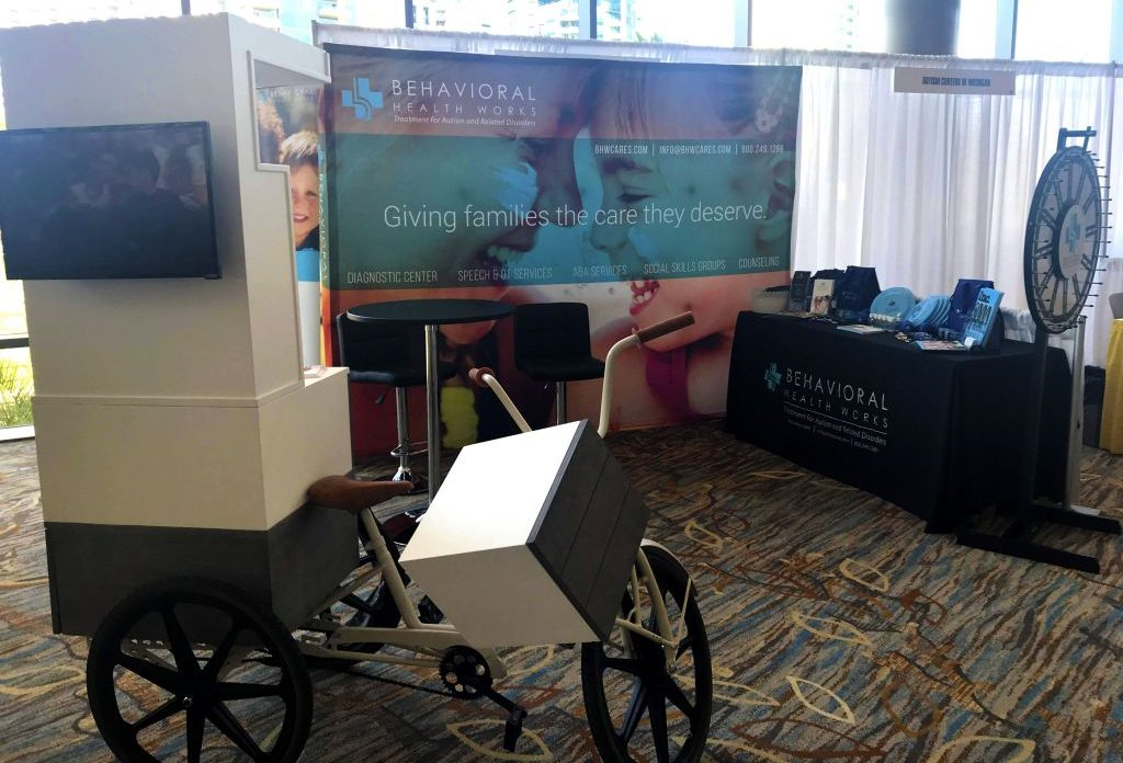 BHW is all set up at ABAI San Diego - Behavioral Health Works