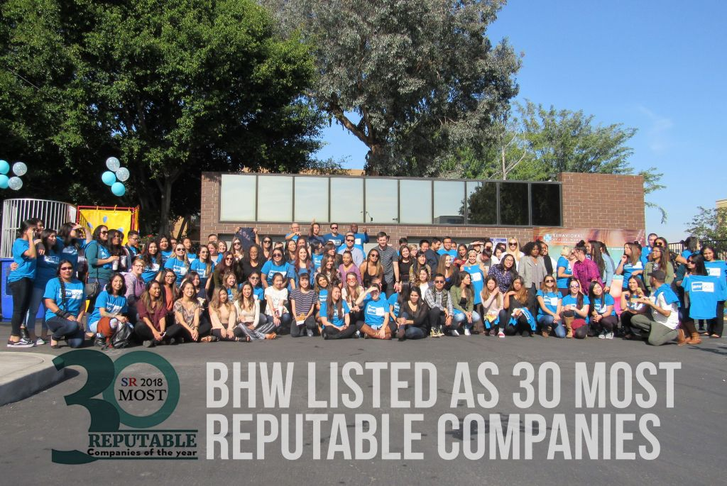 BHW 30 Most Reputable Companies