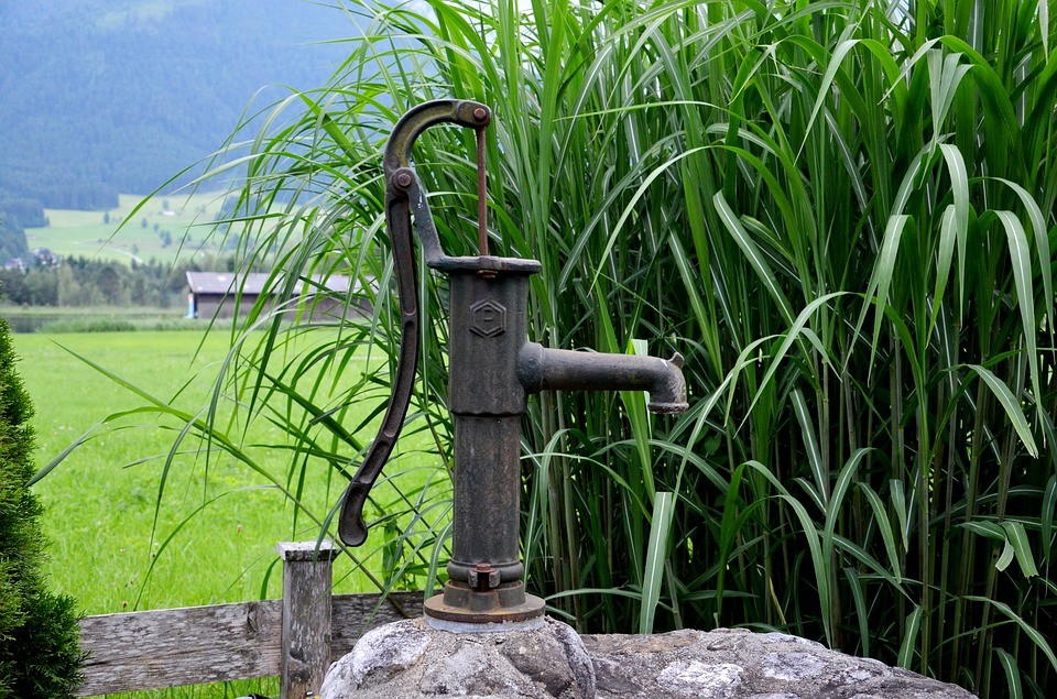 Water well in South East Asia