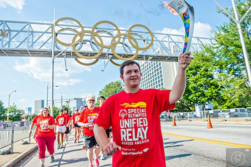 Will Crain Special Olympics Hexathlete