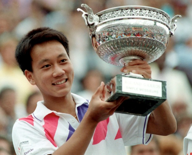 right attitude - Michael Chang French Open 1989 Winner