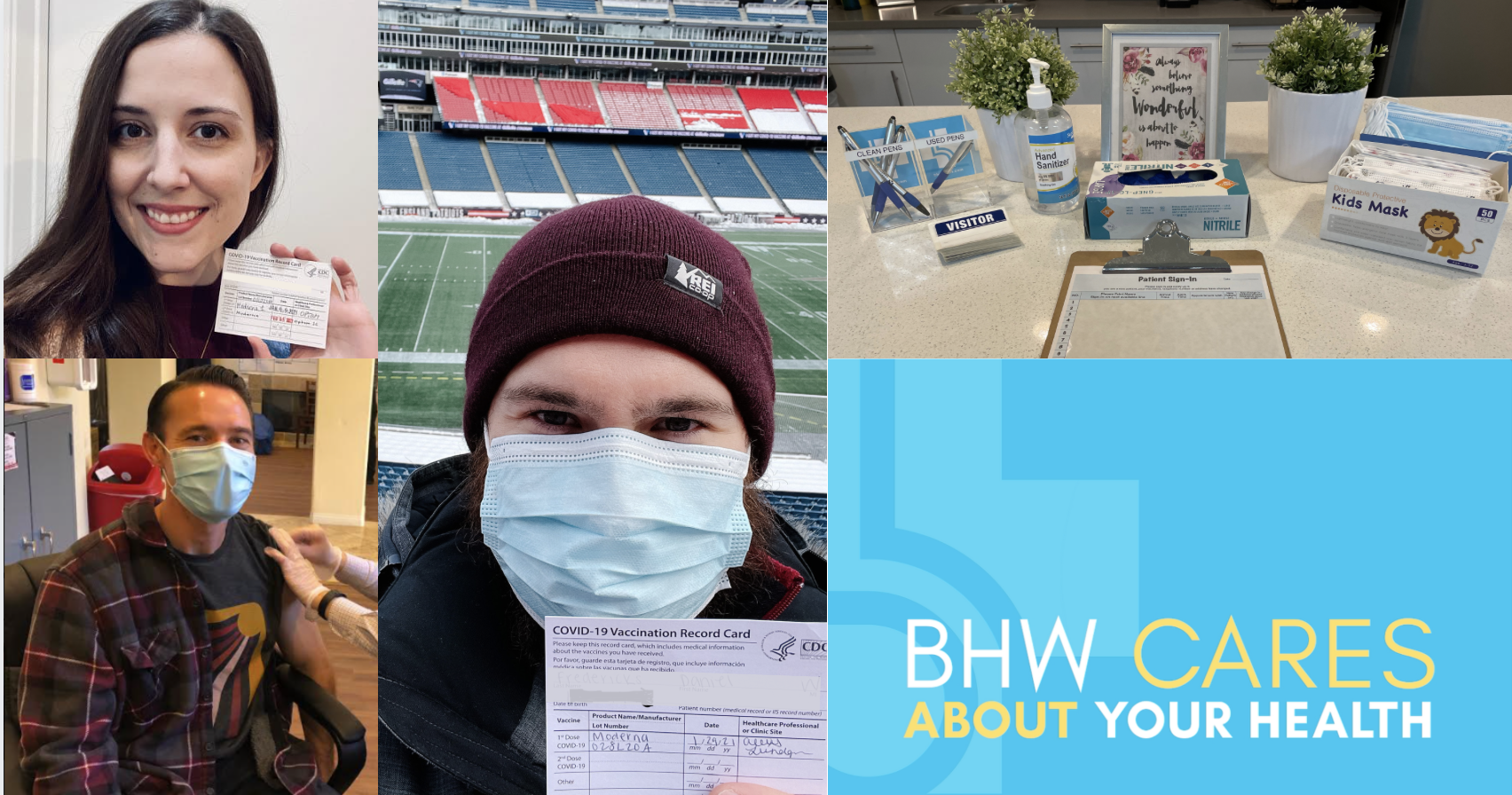 BHW Cares About Your Health